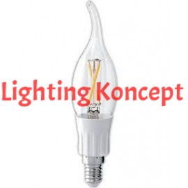 B12 E26/12 120V 280 Lm 150 Degree Ul/Cul 4000K  4 Watts