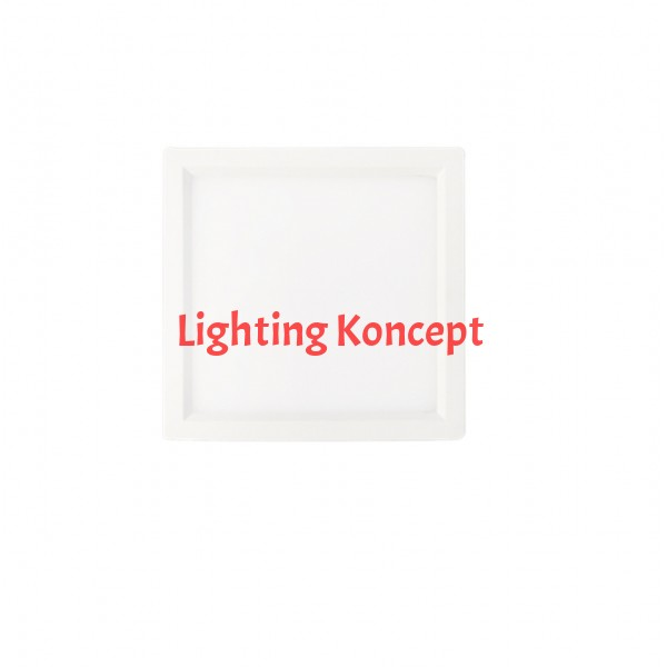 6 Inch LED Slim Surface mount downlighting, Square