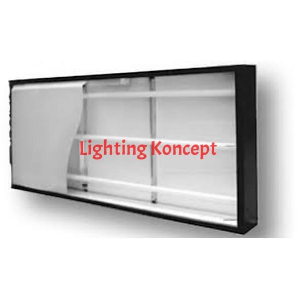 "LED Sign box tube 360 degree 46""-30watts"
