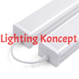 8 Ft. 120W Linkable Led Linear Light Fixture, 8350 Lm 5000K
