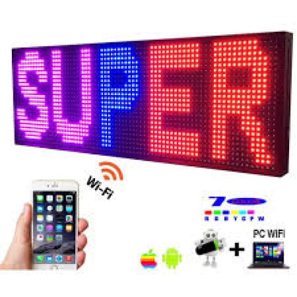 14 X 40 Inch Super Bright Programmable Led Sign